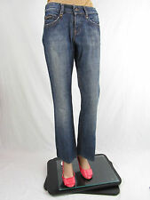 CALVIN KLEIN CK Designer Womens Ladies Indigo Classic Blue Jeans W26 Small AT59
