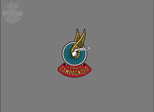 Vintage Campagnolo Cambio Winged Wheel Water Slide Decal, Autocollant