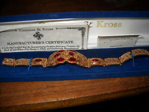 RARE Camrose & Kross Jacqueline Jackie Kennedy Mayan Bracelet