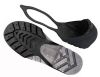 Oshatoes All Black Steel Toe Cap Safety Overshoe OSHA Compliant CSA Attest Large