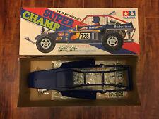 Vintage 1982 TAMIYA 1/10 SUPER CHAMP Body Parts Set NIB