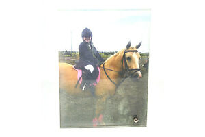 """Personalised 5"""" x 7"""" Glass Photo panel for all occasions"""