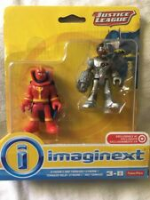 Imaginext Justice League Cyborg & Red Tornado Action Figures Fisher-Price NIP