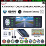 4.1''1 Din Car Radio Stereo Mirror Link MP5 Player RDS/AM/FM/AUX Bluetooth Audio