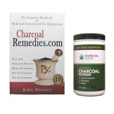 Charcoal Powder & Book Special Starter Kit - Hardwood Powder & Charcoal Remedies