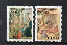 ITALY MNH 1976 SG1501-1502 CHRISTMAS