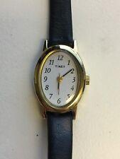 Working Ladies Gold Timex Watch BK