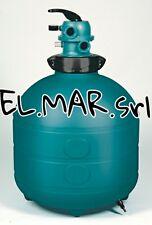 Filtro a Sabbia 6 Vie Diametro 450 mm 8 m3/h x Pompa Piscina