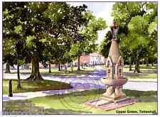 "TETTENHALL GREEN WOLVERHAMPTON WATERCOLOUR ARTISTS PRINT GREETINGS CARD 8""x 6"""
