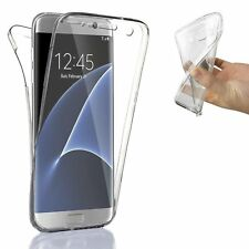 Samsung Galaxy S6 Front & Back Gel Case Shockproof Protective & Free Headphones!