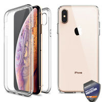 For Apple iPhone 11 XS Case Shockproof 360 Full coverage Clear Rugged Case Cover
