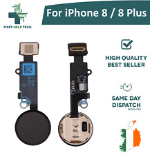 For iPhone 8 / iPhone 8 Plus Home Button Fingerprint Touch ID Flex Cable Black