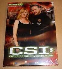 DVD Box CSI: Staffel Season 6 Sechs Six - Epsioden 13 - 24 DVDs 6.2 Neu OVP