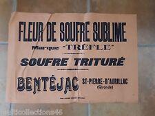 AFFICHE - 150617- St-PIERRE-D'AURILLAC (Gironde) - Fleur de soufre sublime