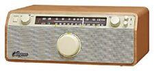 Sangean Wr-12 Genuine 120 radio madera Am/fm/aux-in