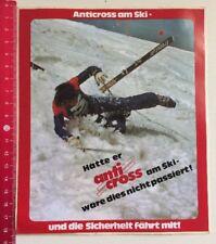 Aufkleber/Sticker A4: Anti Cross Am Ski (01041693)