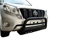 Black Bullbar Nudge Bar Grille Skid Guard for Toyota Prado 150 09-18