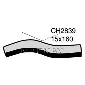 Mackay  Heater Hose    CH2839  suits TOYOTA MR2 SW20R 2.0L I4 PETROL Manual & Au