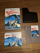Maniac Mansion (Nintendo NES) french Pal-B Version ovp cib NES-JM-FRA