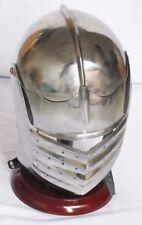 German Maximillian Ancient Italian Helmet Medieval European Closed Armour Helmet