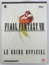 Final Fantasy VIII 8 - Le Guide officiel - Squaresoft FR français NEUF NEW RARE