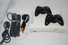 Xbox 360 ARCADE Console, 2 Controllers, 256MB Bundle Lot