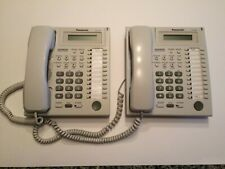 Panasonic KX-T7730, LOT of 2 Phones - White - Pre Owned
