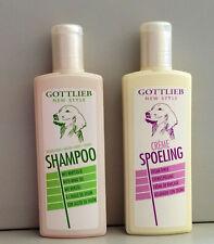 Hundeshampoo + Cremespülung Naturölshampoo mit Kräutern 2x300ml von Gottlieb
