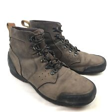 Sorel Ankeny Mens 14 Mid Brown Leather Waterproof Hiking Trail Boots