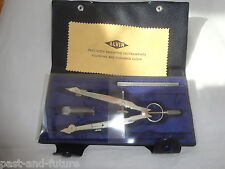 ALVIN 805A BOW COMPASS SET, MADE IN GERMANY,