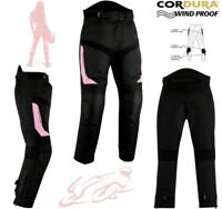 WOMENS PINK SPEED MAXX LADIES CE ARMOUR MOTORBIKE MOTORCYCLE MOTOCROSS TROUSERS