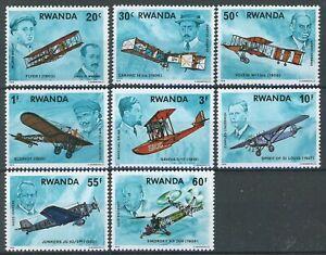 sb0195 Rwanda - Sc#885-92 MNH