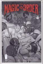 THE MAGIC ORDER #3 Olivier Coipel Black & White Limited Dealer Inc VARIANT NM+
