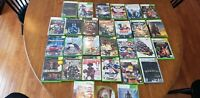 Xbox Original And Xbox 360 Video Game Lot 29 Total