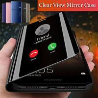 For Huawei Nova 4 3 Nova 3i 2i 3E 2 Lite Smart Mirror View Flip Stand Case Cover