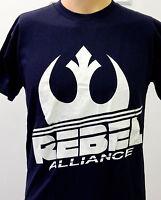 NEW! Star Wars Rebel Alliance Rebellion Symbol Sign Logo Blue Shirt X Small