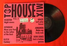 Top House Mix Vol 2 Komplettanlage Maxi Version 1989 VG+ Vinyl 33T LP