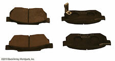 BECK/ARNLEY 087-1231 Silver Supreme Semi Metallic Disc Brake Pads Front