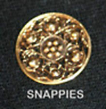 Snappies gold MAGNETIC stock tie HUNT COLLAR DRESSAGE SHOWHACK