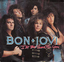 BON JOVI I'll Be There For You PICTURE SLEEVE record NEW + juke box title strip