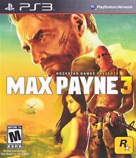 Max Payne 3 PS3 Great Condition Complete Fast Shipping