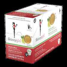 24 Ct. Box SKINNY GIRL MOJITO MINT Green Tea Single Serve Cups