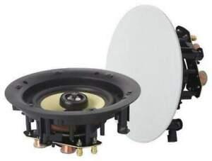 "8"" Studio Acoustics Frameless In-Ceiling Speakers Pair - SA800WM"