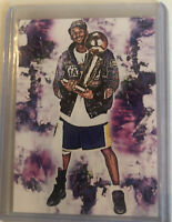 2020 Kobe Bryant  La Lakers 17/25 Ltd Ed Art ACEO Sketch card By Q