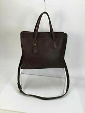 Coach Brown Leather Classic Shoulder Bag