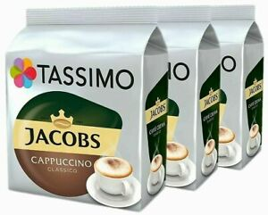 Tassimo Jacobs Cappuccino Classico Pods 8/ 16/ 24/ 32/ 40 Drinks