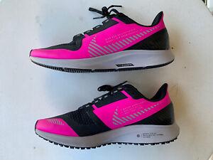 neu: Nike Air Zoom Pegasus 36 Gr. EU 40 schwarz pink UK6 Run Utility Shield