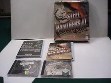 Vintage 1996 STEEL PANTHERS 1 & 2 SSI Dos CD-ROM Modern Battles tested good
