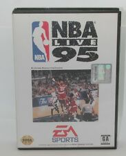 Sega Genesis EA Sports NBA Live 95, Works. Game, Case and Instruction Manual R13