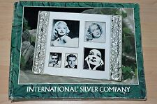International Silver Company - Silver Plated Collage Photo Frame + Brand New +